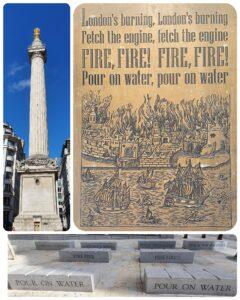 Fire of London anniversary virtual tour Simon Whitehouse Monument